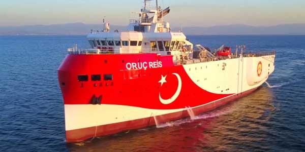 Κλιμακώνει ξανά η Τουρκία: Νέα NAVTEX, το Oruc Reis ξεκινά έρευνες νότια του Καστελόριζου