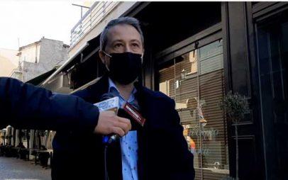 Σάκης Δραγατσίκας: «Αν δεν πέσει χρήμα στην αγορά, θα κλείσουν καταστήματα, η πόλη θα ερημώσει»