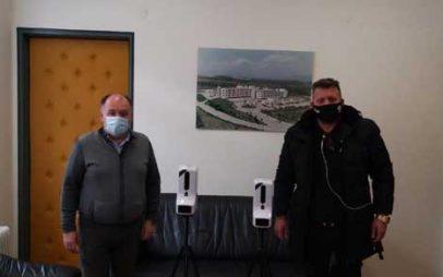 Ευχαριστήριο του Μποδοσάκειου για την δωρεά δύο αυτόματων διανομέων αντισηπτικού με ενσωματωμένο ανέπαφο θερμόμετρο