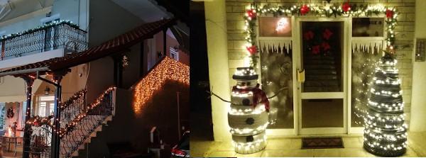 Δήμος Γρεβενών: Φωτογραφίες Πολιτών από τις «Χριστουγεννιάτικες Γειτονιές»  τους