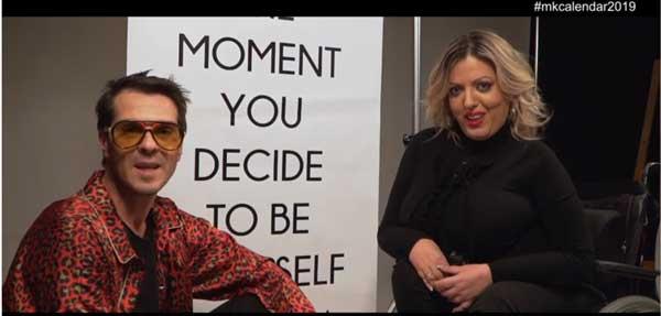 Ο Μηνάς Κάβουρας και η Βασιλική Σιαλβέρα στέλνουν μήνυμα, με αφορμή την ημέρα Ατόμων με Αναπηρία