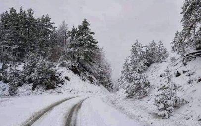 Η φωτογραφία της ημέρας: Όμορφο χιονισμένο τοπίο στη Βωβούσα