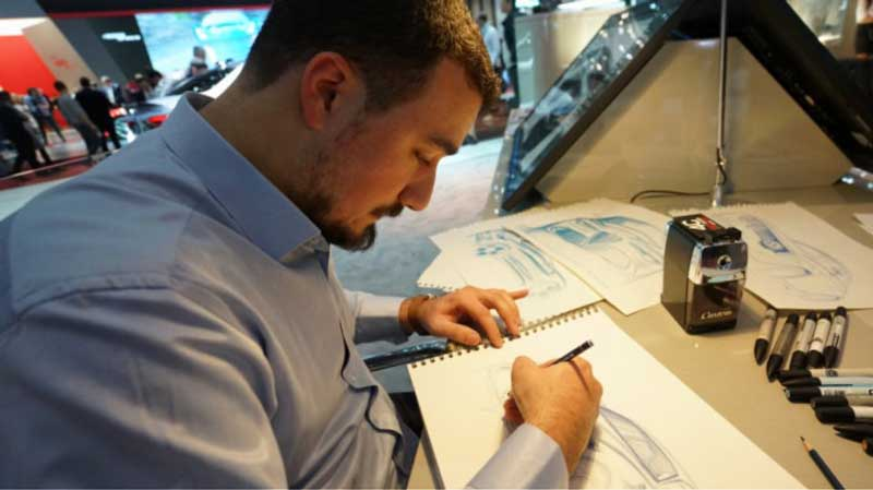 Αλέξανδρος Λιώκης, απόφοιτος του ΤΕΙ Βιομηχανικού σχεδιασμού της Κοζάνης:Πώς εμπνεύστηκα το σχέδιο της νέας Alfa Romeo
