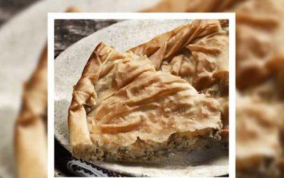 alfa pastry: Κοζανίτικη γκιζλεμόπιτα (κιμαδόπιτα με πράσα)