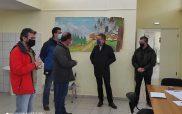 Επίσκεψη του δημάρχου Κοζάνης Λάζαρου Μαλούτα στο Κέντρο Θεραπείας Εξαρτημένων Ατόμων Δυτικής Μακεδονίας