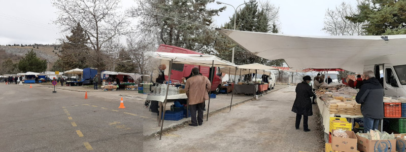 Η νέα παράλληλη λαϊκή αγορά στο  Νιάημερο της Κοζάνης