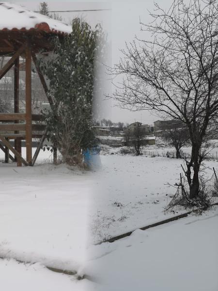 Χιονισμένες εικόνες από το Λιβαδερό