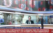 Σαρηγιάννης: Προς τον Μάρτιο θα πάμε σε αυξημένα κρούσματα κορονοϊού
