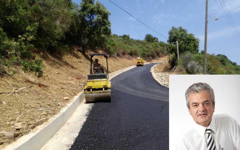 Τέσσερα έργα οδοποιίας επαρχιακού δικτύου συνολικού προϋπολογισμού 117.000,00 €