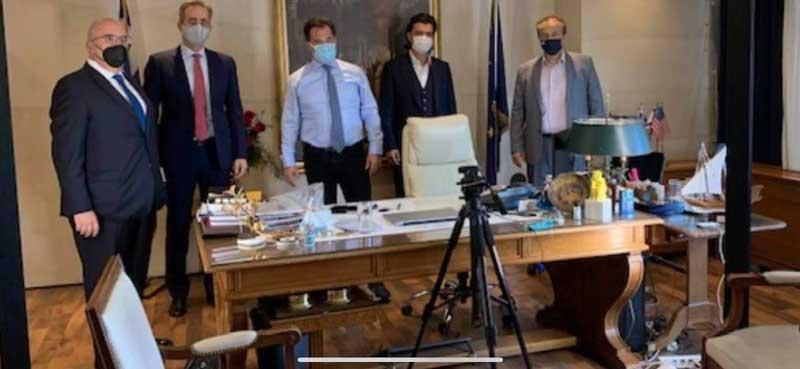 Συνάντηση του Ανδρέα Πάτση με τον Υπουργό Ανάπτυξης και Επενδύσεων, κ. Άδωνι Γεωργιάδη