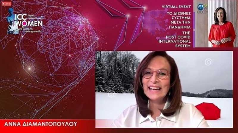 Άννα Διαμαντοπούλου: Η πανδημία λειτουργεί ως επιταχυντής μεγάλων εξελίξεων