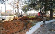 Ξεκίνησαν οι εργασίες για την κατασκευή αρδευτικού δικτύων πάρκων από τον Δήμο Αμυνταίου