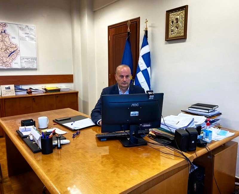 Υπό τον Συντονισμό του Εκτελεστικού Γραμματέα έγινε η παρουσίαση από τους τμηματάρχες της Περιφέρειας Δυτικής Μακεδονίας του απολογισμού 2020 και προγραμματισμού Α' τριμήνου 2021