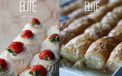 Elite Pastry Shop:Είστε και εσείς λάτρεις της Pavlova ή του γαλακτομπούρεκου;