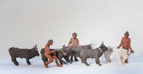 «Ο δρόμος προς τη θυσία» με μικρογλυπτά στο Αρχαιολογικό Μουσείο Φλώρινας