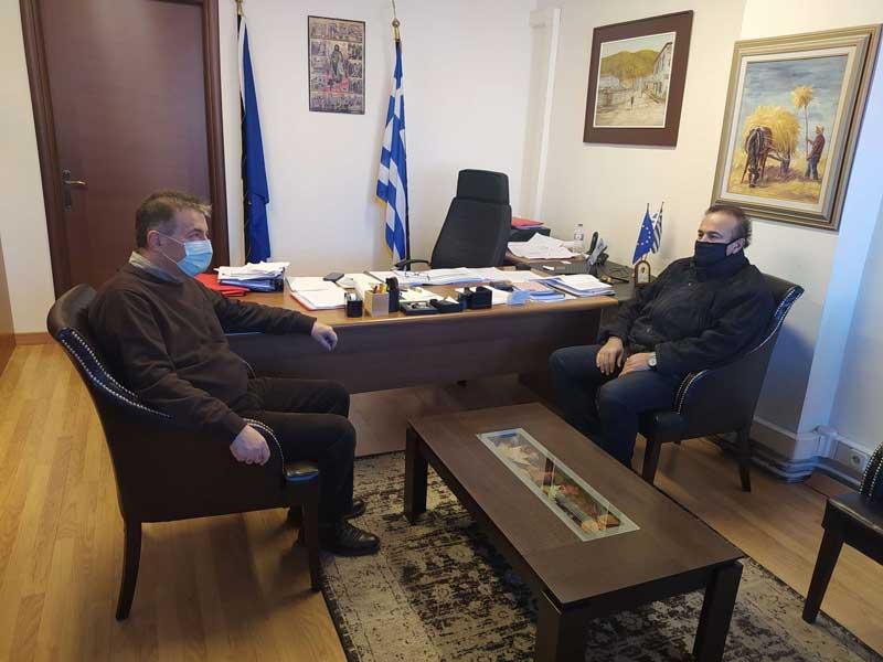 Με τον δήμαρχο Αμυνταίου Άνθιμο Μπιτάκη συναντήθηκε ο βουλευτής της Π.Ε Φλώρινας Γιάννης Αντωνιάδης