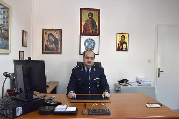 Ανέλαβε και εκτελεί καθήκοντα Διευθυντή της Διεύθυνσης Αστυνομίας Φλώρινας ο Αστυνομικός Υποδιευθυντής Παναγιώτης Γεωργιάδης