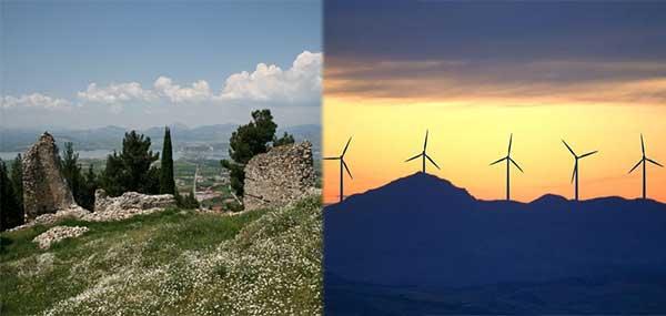 Λίγο πριν τοποθετηθούν οι 5 ανεμογεννήτριες  – Ένα αιολικό πάρκο σε απόσταση 1.400 μόλις μέτρων από τη Βυζαντινή Καστροπολιτεία των Σερβίων!