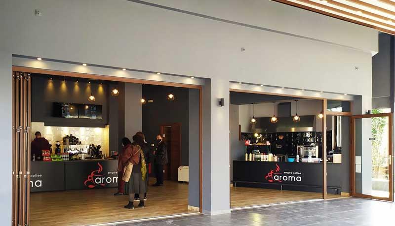 Aroma Empire Coffee Kozani-Ανοίξαμε και σας περιμένουμε