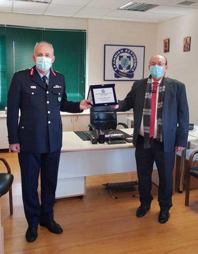 Πραγματοποιήθηκε η τελετή παράδοσης-ανάληψης καθηκόντων Γενικού Περιφερειακού Αστυνομικού Διευθυντή Δυτικής Μακεδονίας