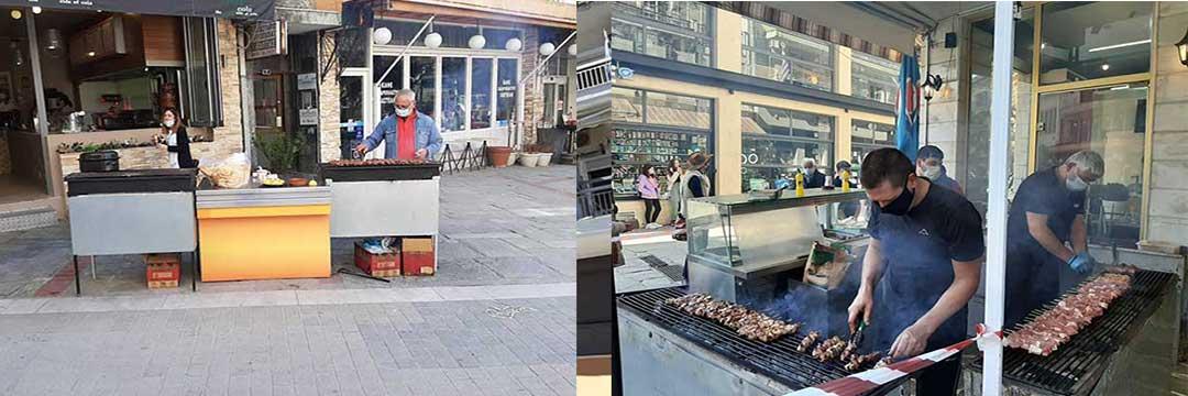 Χωρίς τους ήχους των χάλκινων η Τσικνοπέμπτη στην Κοζάνη-Τσικνίσματα στις βεράντες