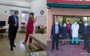 Το εμβολιαστικό κέντρο του Κ.Υ Αμυνταίου και το νοσοκομείο Φλώρινας επισκέφτηκε ο διοικητής της 3ης ΥΠΕ Παναγιώτης Μπογιατζίδης