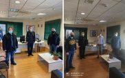 Οι Πρόεδροι των Δ.Σ. Ενώσεων Αστυνομικών Υπαλλήλων Π.Ε. Κοζάνης και Φλώρινας επισκέφτηκαν τον Γεν. Περιφ. Αστυνομικό Δ/ντή Δ. Μακεδονίας Ταξίαρχο Θωμά Νέστορα