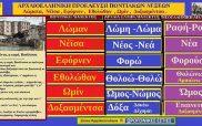 Λέξεις και φράσεις τη ποντιακής διαλέκτου με αρχαιοελληνικές ρίζες: Λώματα, Νέϊσα, Εφόρνεν, Εθολώθαν, Ωμίν, Δοξασμέντσα