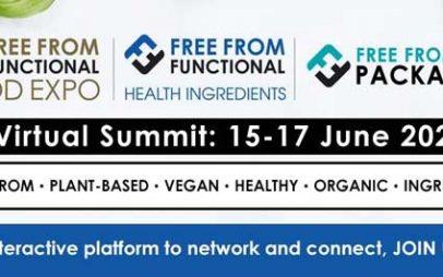 Free From Food Functional and Health Ingredients 2021: Πρόσκληση συμμετοχής στη διαδικτυακή εκδήλωση επιχειρηματικών συναντήσεων (B2B), 15-17 Ιουνίου 2021