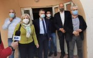 Τετραμελές κλιμάκιο του Υπουργείου Υγείας και ΕΟΔΥ στο Μαμάτσειο