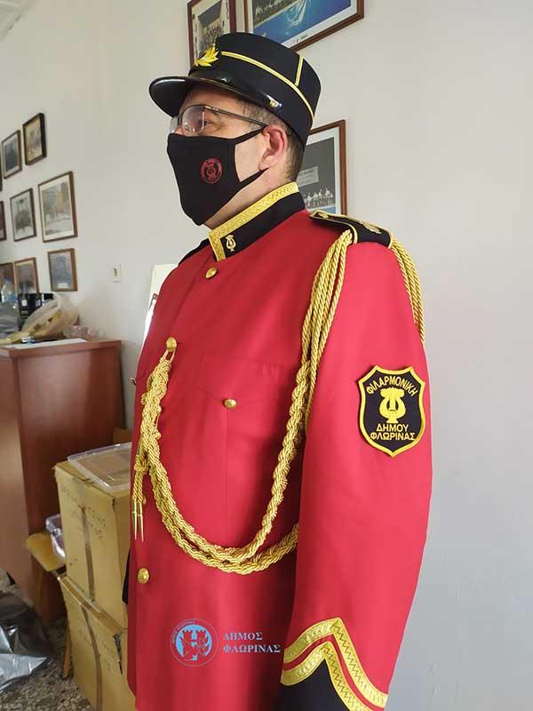 Νέες στολές για τη Φιλαρμονική Δήμου Φλώρινας