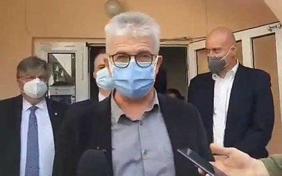 Χαράλαμπος Γώγος από Μαμάτσειο: Κάποιοι παράμετροι δεν έχουν ελεγχθεί ακόμα όπως η ατμοσφαιρική ρύπανση, η προστασία του κλίματος – Τετραμελές κλιμάκιο στο νοσοκομείο: Τηρήστε τα μέτρα