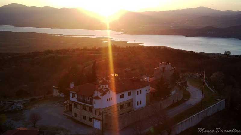 Φωτογραφία της ημέρας: Ιερά Μονή Αγίου Νεκταρίου Παλαιογρατσάνου