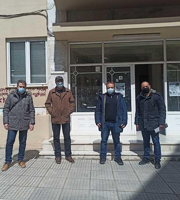 ΤΕ Κοζάνης του ΚΚΕ: Συνάντηση αντιπροσωπείας του Κόμματος με τον Εμπορικό Σύλλογο Κοζάνης
