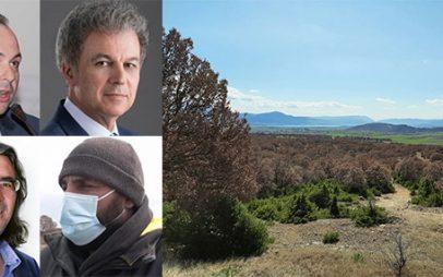 Γιώργος Αμανατίδης: Ό, τι συμφωνήθηκε για το δάσος της Μεσιανής ισχύει-  Χρήστος Πετρόχειλος:Δεν υπήρχε καμία βοήθεια από την περιφέρεια