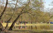 Πολύς κόσμος απόλαυσε χθες τη βόλτα του στο Πλατανόδασος Ρυμνίου
