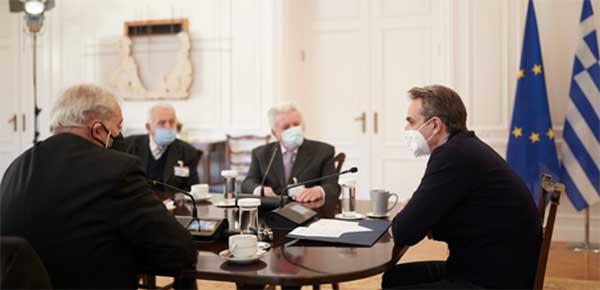 Ανώτατη Γενική Συνομοσπονδία Συνταξιούχων Ελλάδος: Συνάντηση με τον Πρωθυπουργό