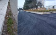 Μαρμάρινα κράσπεδα και άσφαλτος σε 8 δρόμους στο Τρανόβαλτο