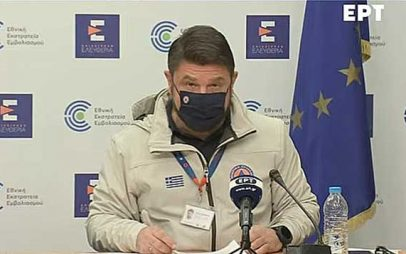 Νίκος Χαρδαλιάς: Μειώνεται το ιικό φορτίο στην Π.Ε. Κοζάνης – SMS 6 για το Πάσχα και την εστίαση – Ανοίγουν οι διαδημοτικές