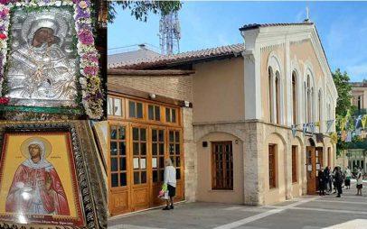 Θεία λειτουργία στον Άγιο Νικόλαο με την Παναγιά τη Ζιδανιώτισσα ανήμερα της Αγίας Γλυκερίας