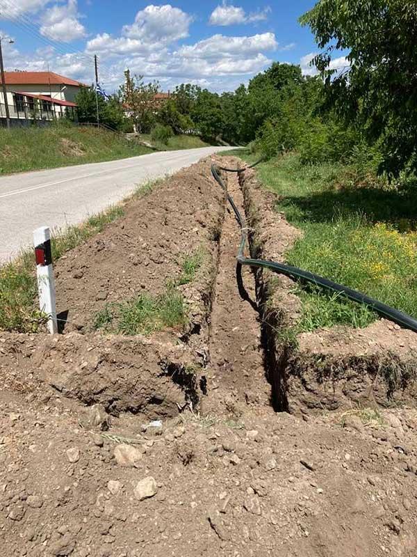 Επέκταση του αρδευτικού Σερβίων προς το οικισμό των Γουλών