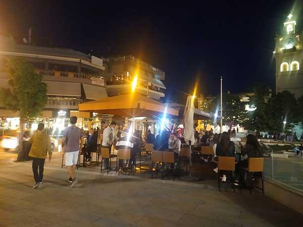 Βραδάκι στην Κοζάνη με τραπεζάκια έξω  -Ανάσα για καταστηματάρχες και πελάτες