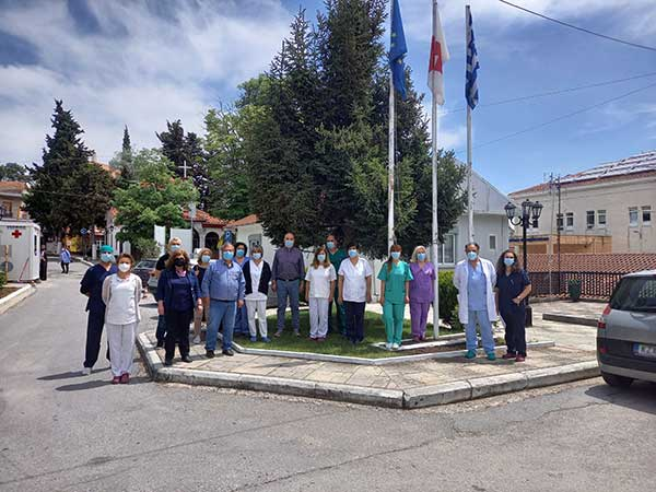 Το «Μαμάτσειο» τιμά τους Νοσηλευτές και τους ευχαριστεί
