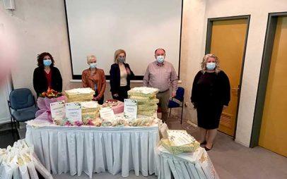 Σε συνέχεια της εκδήλωσης για την γιορτή της μητέρας τιμήθηκαν οι νοσηλεύτριες του Μποδοσάκειου Νοσοκομείου Πτολεμαΐδας