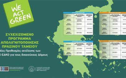Το χρονοδιάγραμμα των έργων για την Ενέργεια και το Κλίμα και την Κυκλική Οικονομία στους δήμους της Δ. Μακεδονίας