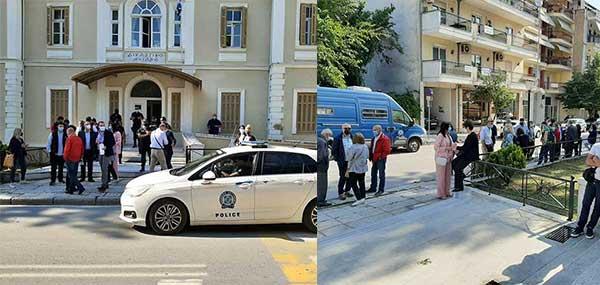 Η απίστευτη αγριότητα και η ψυχραιμία του δράστη κατά την βίαιη επίθεση στη ΔΟΥ Κοζάνης – Τι ανέφεραν οι μάρτυρες