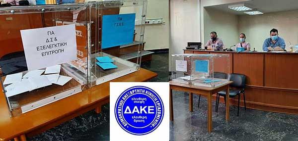 Πρώτη η ΔΑΚΕ στις εκλογές του Εργατικού Κέντρου Κοζάνης – Η κατανομή των εδρών