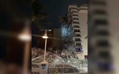 ΗΠΑ: Κατέρρευσε η μία πλευρά πολυώροφου κτιρίου στο Μαϊάμι
