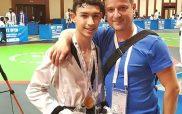 Με την Εθνική ομάδα taekwondo στο Ταλίν Εσθονίας ο Ρούσης του Σπάρτακου Κοζάνης