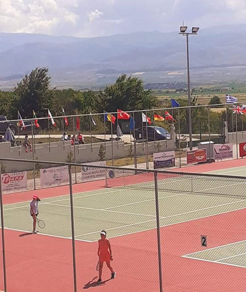 Όμιλος Αντισφαίρισης Πτολεμαΐδας: Φωτογραφίες από την πρώτη μέρα των προκριματικών του Tennis Europe U12